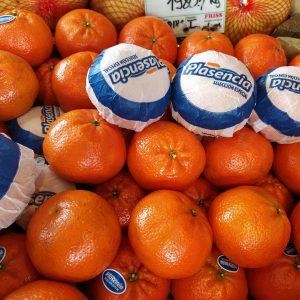 Premium minőségű spanyol magnélküli mandarin